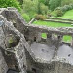 deel ruine, vanaf het dak