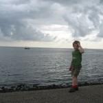 de zee bij Oudeschild